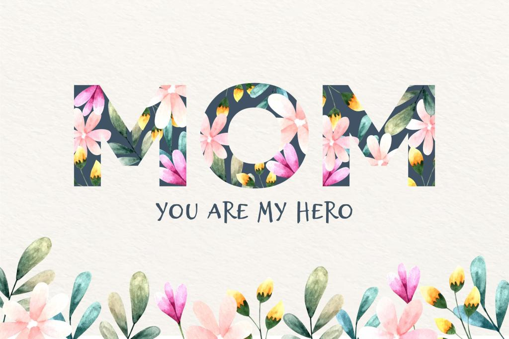 Mother's day, my mum...my hero!
